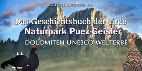 Natur park Puez Geisler – The history book of the earth